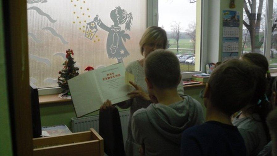 Filia Kobierno - Wizyta w bibliotece