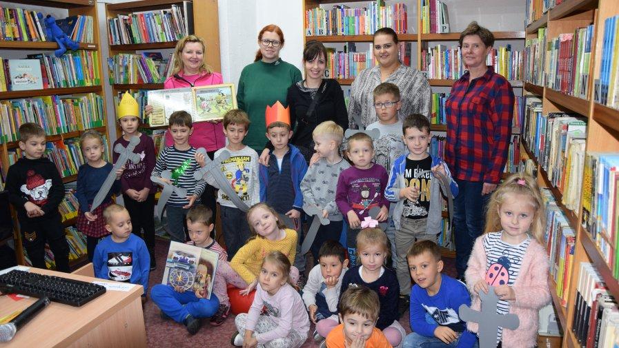 """Lekcja biblioteczna dla przedszkolaków na temat """"Średniowiecza"""""""