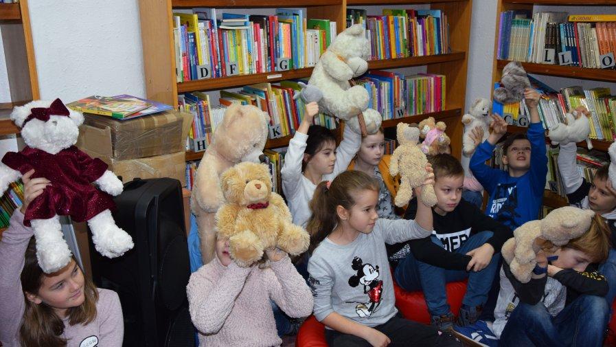 Światowy Dzień Pluszowego Misia w Krotoszyńskiej Bibliotece Publicznej
